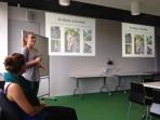 Jordi giving a talk